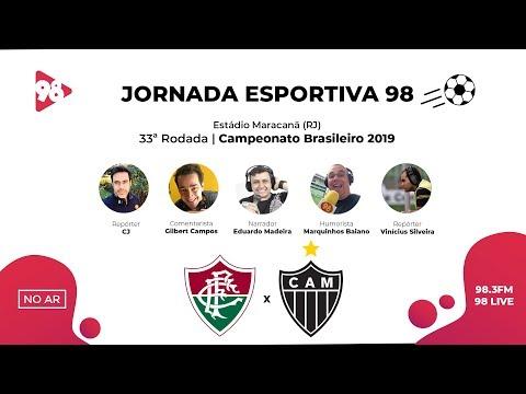 FLUMINENSE x ATLÉTICO MINEIRO | BRASILEIRÃO | RÁDIO 98FM AO VIVO