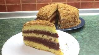 "торт ""К ЧАЮ""  вкусно, быстро, легко!!!!"