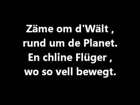 Fraui - Zäme um d'Wält Lyrics