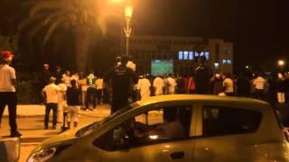 دقائق الاخيرة من مباراة الجزائر و روسيا في بلدية الرغاية