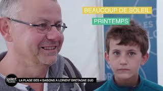 Playlist Littoral et Plages de Lorient Bretagne Sud Tourisme :