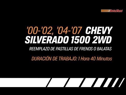Cómo Reemplazar Pastillas De Frenos En Un Silverado – 2000-2002, 2004-2007 – Serie De Marca Y Modelo
