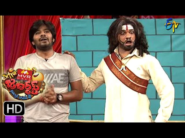 Sudigaali Sudheer Performance | Extra Jabardsth | 7th July 2017| ETV  Telugu
