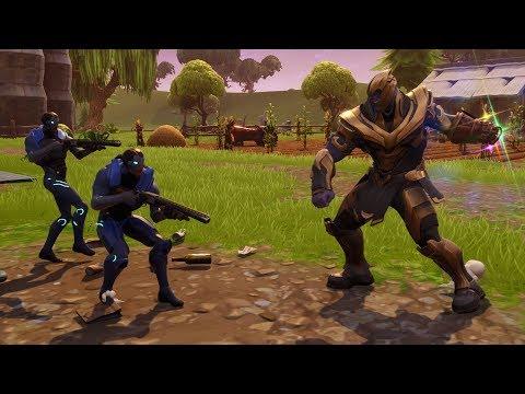 0219d44747d  FAIL  TENTANDO VENCER O THANOS COM A NOVA ESTRATÉGIA! (Fortnite Battle  Royale Live)