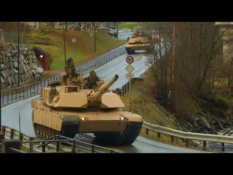 DFN:Trident Juncture 18 - 2nd Tank Battalion B-roll NORWAY 10.25.2018