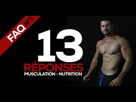 Musculation nutrition motivation FAQ N°1 - fitnessmith