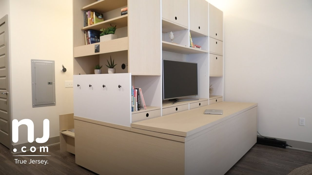 Robotic furniture transforms studio apartments - YouTube