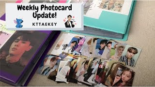 Weekly Photocard Update♡♡♡