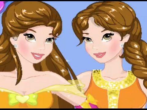 princesas disney ~ bella cumple sus dulces 16 ~ juegos de princesas