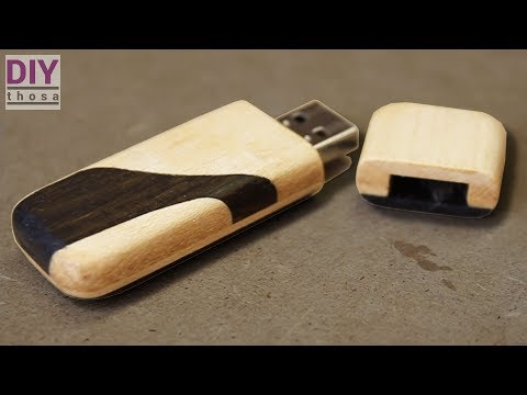 How To Make a Wooden USB Drive / Case / Stick