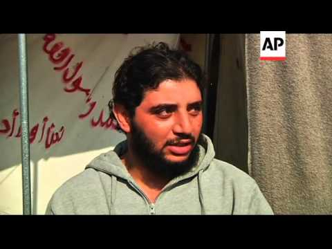 """Syrian refugees in camps discuss """"Friends of Syria"""" meeting"""