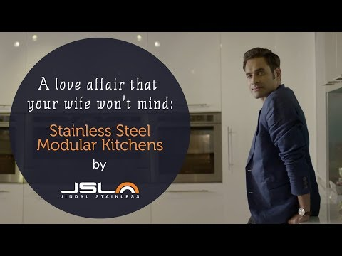 A love affair that your wife won't mind: Stainless Steel modular kitchens by JSL