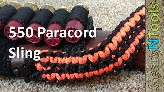 Paracord 550 sling for shotgun / Rifle DIY Instruction