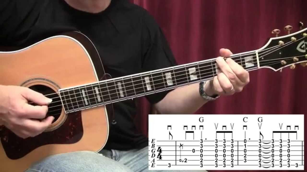 Pink Houses John Mellencamp Guitar Lesson Youtube