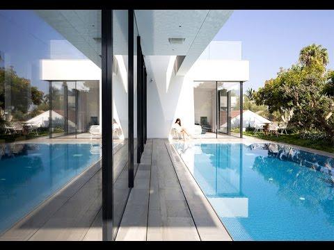 En forma de l casa completamente abierto a la piscina for Casas con piscina en chichiriviche
