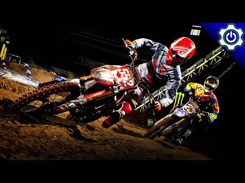 Monster Energy Supercross - Realistic Difficulty & Physics - Career Mode Ep. 2