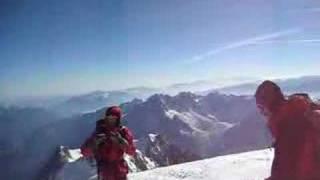 mont blanc summit 360 degrees