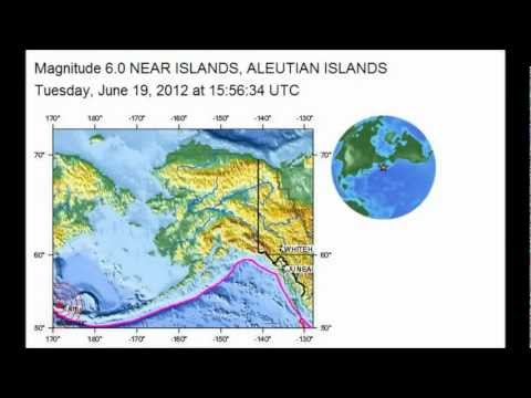 M 6.0 EARTHQUAKE - NEAR ISLANDS, ALEUTIAN ISLANDS, ALASKA