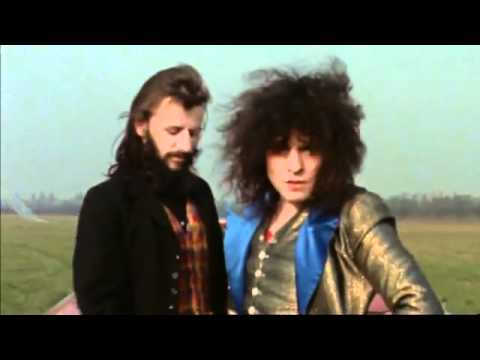 Marc Bolan Ringo Starr 1972