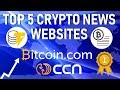 "🔔TOP 5 BEST ""BREAKING NEWS"" CRYPTO WEBSITES‼️   2018🌐"