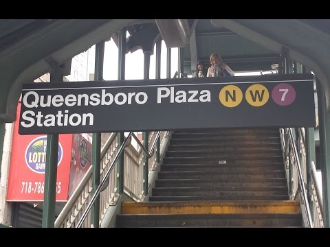 MTA New York City Subway: R62A, R68, R160 & R188 (N) (W) (7) Trains @ Queensboro Plaza