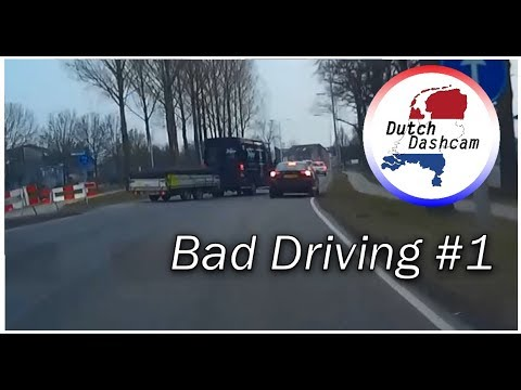 Bad Driving Compilatie Nederland #1