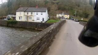 A Ride Through Dulverton in Somerset