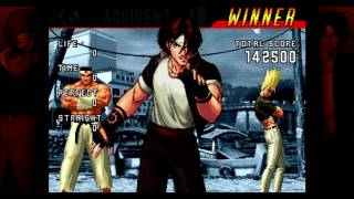 The King of Fighters '98: Ultimate Match (XBLA) Playthrough as Hero Team