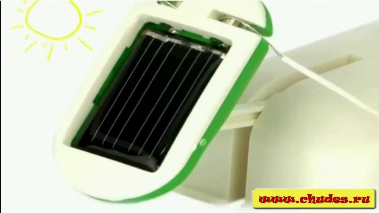 Набор на солнечных батареях 3 в 1