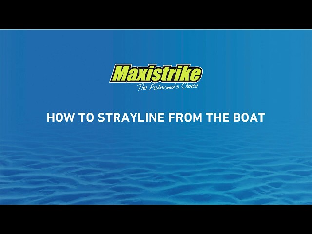 Learn how to strayline from the boat