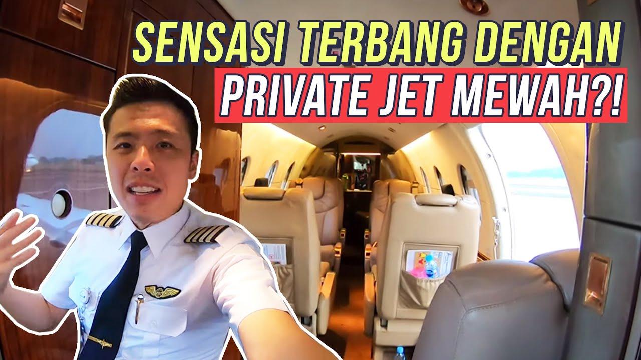 TERBANG MEWAH NAIK PRIVATE JET DI INDONESIA!! RECOMMENDED!! MEWAH SEKALI YA!! YU KITA TERBANG!!