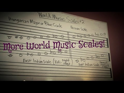 World Music Scales video 2
