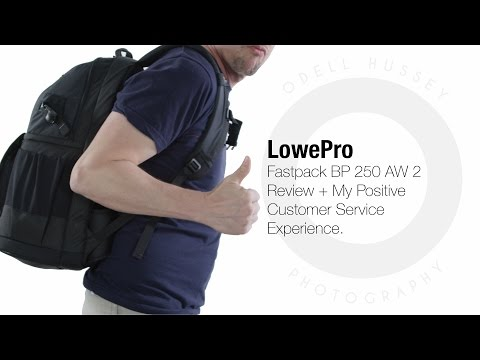 Fastpack BP 250 AW 2 Camera Bag Review.