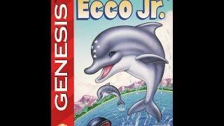 Ecco Jr. Прохождение (Sega Rus)