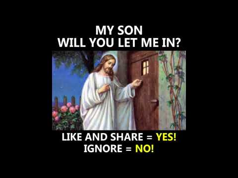 Will you let me in