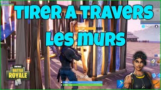 GLITCH FORTNITE HOW TO TIRER TO TRAVERS THE PORTES! AFTER PATCH [EXCLUDED EN]