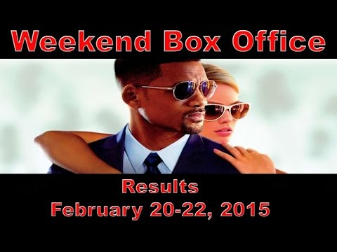 weekend box office results february 27 march 1 2015 youtube. Black Bedroom Furniture Sets. Home Design Ideas