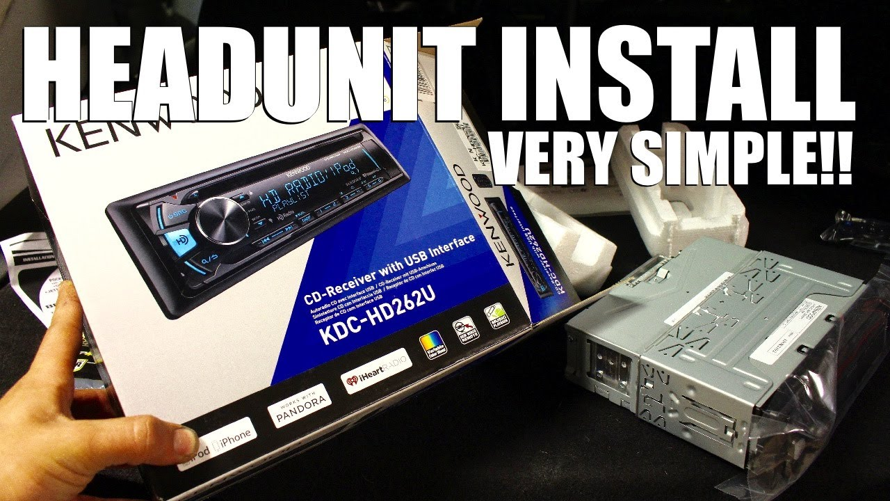 How To Install An Aftermarket Headunit Youtube