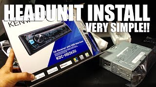 How to Install an Aftermarket Headunit