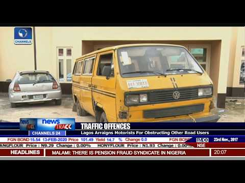 Lagos Arraigns Motorists For Obstructing Other Road Users