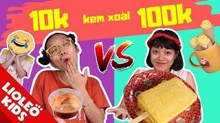 Kem xoài 10k vs kem xoài 100k - Tấm Lơ Ngơ có được đi dã ngoại BBQ - Tấm Cám chuyện Lio kể