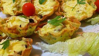 جديد شهيوات رمضانية / كريب مالح بالدجاج والفطر بشكل مبتكر ومذاق رائع