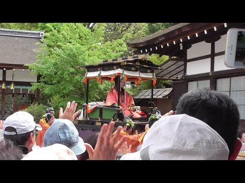 京都 葵祭 2015年 Aoi Matsuri (annual festival) at Kamigamo and Shimogamo Shrines in Kyoto