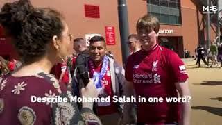 Mohammed salah and his faith islam  a gift from Allah