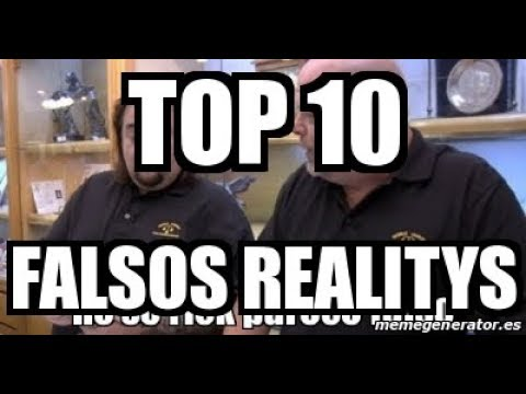 Top 10 de falsos realitys del cable