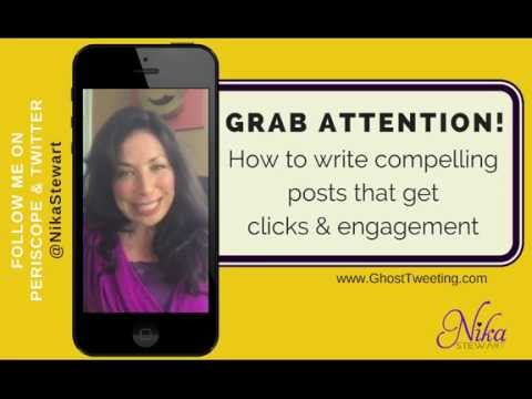 Grab Attention: How To Write Social Media Posts That Get Clicks & Engagement