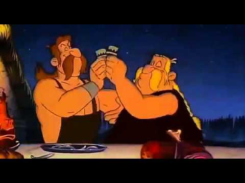 Asterix in Amerika Wotscha Ging Gang Guli