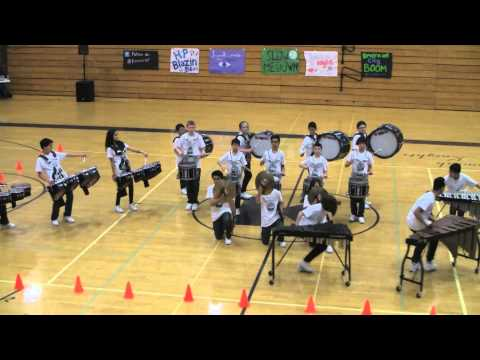 Harbour Pointe Middle School Indoor Percussion 2015