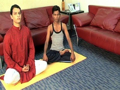 Yoga Exercise Ardha Padmasana
