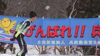 クロスカントリー リレー 少年男子-4【4KウルトラHD】にいがた妙高はね馬国体 2018.2.28